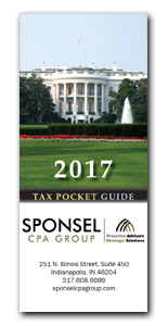 2016 Tax Pocket Guide